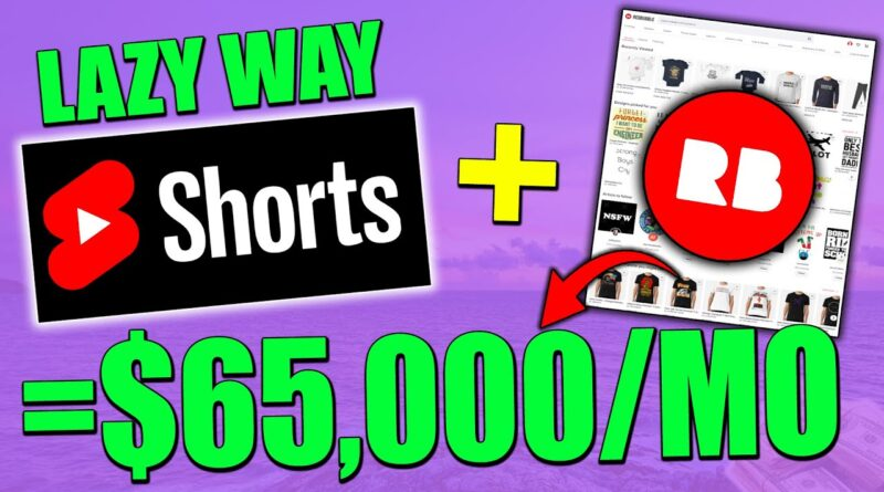 How To Make Money On YouTube Shorts WITHOUT Making ANY Videos – The LAZY Way (Full Tutorial)